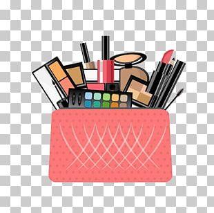 Cosmetics Handbag Make-up Flat Design PNG