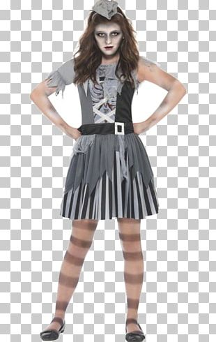 Costume Party Child Halloween Costume Dress PNG