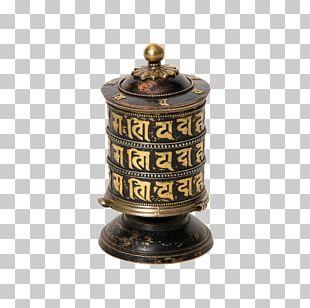 Prayer Wheel Bhavacakra Tibetan Buddhism PNG