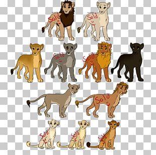 Dog Breed Lion Cat Fauna PNG