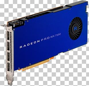 Graphics Cards & Video Adapters AMD Radeon Pro WX 7100 Advanced Micro Devices PNG