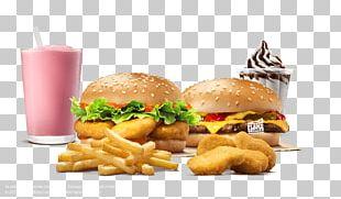 Hamburger Cheeseburger Fast Food French Fries Veggie Burger PNG