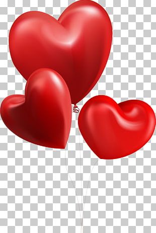 Valentine's Day Balloon Greeting & Note Cards Heart Gift PNG