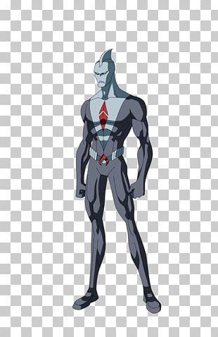 Superhero Shoulder Figurine PNG