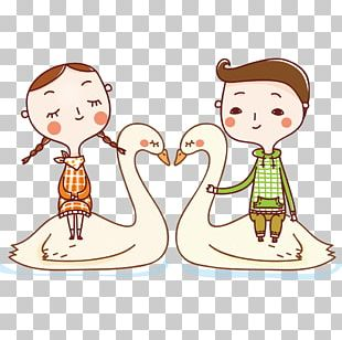 Cartoon Love Drawing PNG