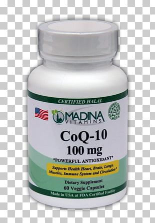 Dietary Supplement Coenzyme Q10 Capsule Health Life Extension PNG