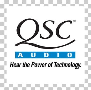 Microphone QSC Audio Products Logo Professional Audiovisual Industry PNG