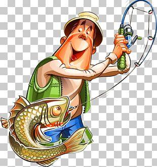 Fishing Cartoon Fisherman PNG