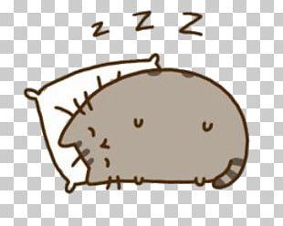 Pusheen Sleeping PNG
