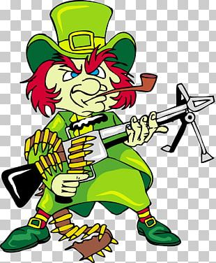 Saint Patrick's Day Handgun Weapon March 17 PNG