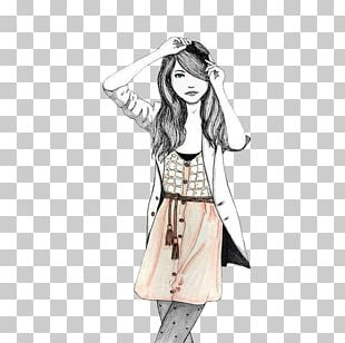 Drawing Fashion Illustration Fashion Design Sketch PNG