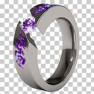 Engagement Ring Jewellery Wedding Ring Titanium Ring PNG