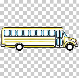 School Bus Car Yellow Motor Vehicle PNG