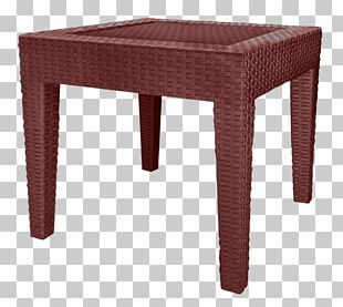 Table Chair Wicker Furniture Dining Room PNG
