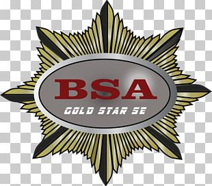 BSA Gold Star Birmingham Small Arms Company Logo Emblem Brand PNG