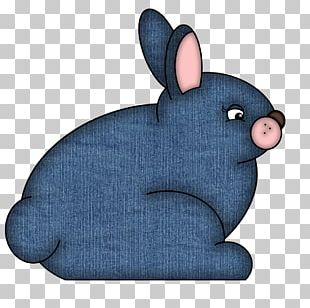 Domestic Rabbit Paper Digital Scrapbooking Embellishment PNG