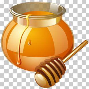 Bee Honey Free Content Jar PNG