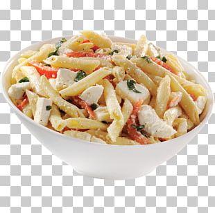 Pasta Italian Cuisine Toast Cream Fettuccine Alfredo PNG