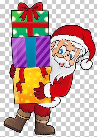 Santa Claus Christmas Gift Christmas Gift PNG