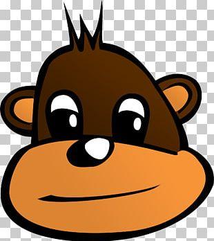 The Evil Monkey Cartoon PNG