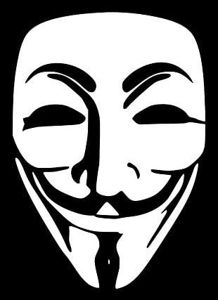 2013 Singapore Cyberattacks Anonymous Security Hacker Hacker Group Sticker PNG