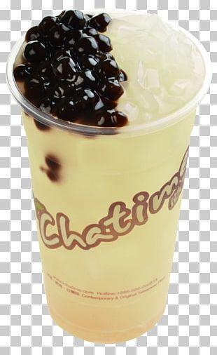 Bubble Tea Juice Grass Jelly Milk PNG