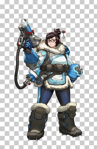 Characters Of Overwatch Mei Game PNG