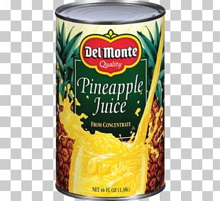 Del Monte Juice Pineapple Del Monte Juice Pineapple Drink Fluid Ounce PNG