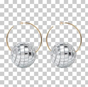 Earring Jewellery Silver Clothing Accessories Gemstone PNG