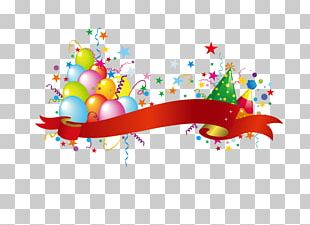 Party Hat Balloon Birthday PNG