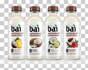 Bai Brands Coconut Water Caffeinated Drink Sports & Energy Drinks PNG
