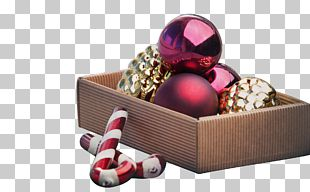 Christmas Ornament Candy Cane Gift PNG