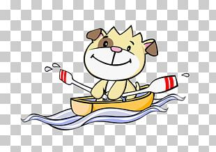 Rowing Boat Cartoon Photography Illustration PNG