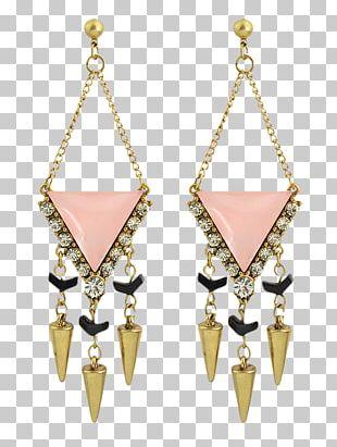 Earring Body Jewellery Necklace Imitation Gemstones & Rhinestones PNG