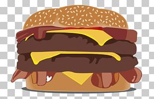 Hamburger Cheeseburger Fast Food Veggie Burger McDonald's Big Mac PNG