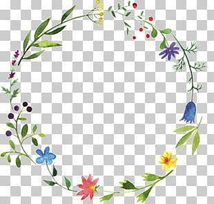Flower Leaf Watercolor Painting Plant Floral Design PNG