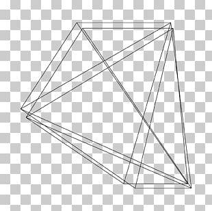 Geometric Shape Reflection Wave Pattern PNG