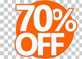 70% Discount Coupon PNG