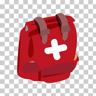 Backpack Red PNG