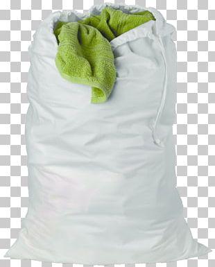 Laundry Hamper Drawstring Clothes Dryer Cotton PNG