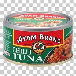 Ayam Brand Tuna Sauce Flavor Chili Pepper PNG