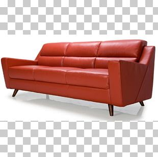 Couch Furniture Bonded Leather Upholstery PNG