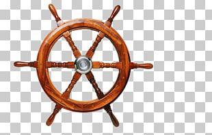 Ship's Wheel Steering Wheel Illustration PNG