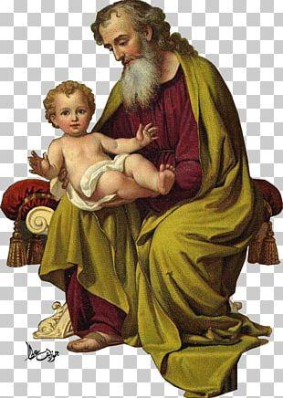 Novena To Saint Joseph Religion Holy Card PNG