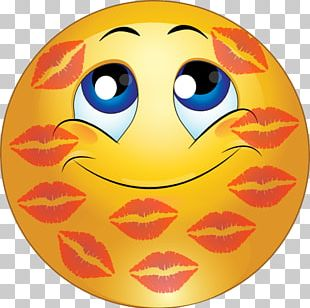 Smiley Emoticon Kiss Face PNG