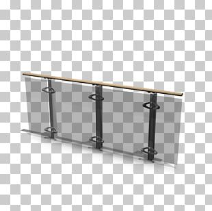 Deck Railing Toughened Glass Handrail Guard Rail PNG