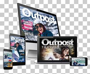 Digital Data Electronics Digital Printing Display Device Outpost Magazine PNG