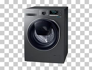 Samsung Galaxy S8 Washing Machines Samsung AddWash WW80K6414Q Combo Washer Dryer PNG