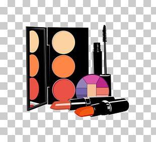 Cosmetics Rouge Lipstick Eye Shadow PNG