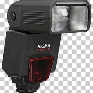 Camera Flashes Sigma EF-610 DG ST Sigma EF-610 DG SUPER Nikon Speedlight PNG